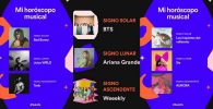 carta natal musical de Spotify